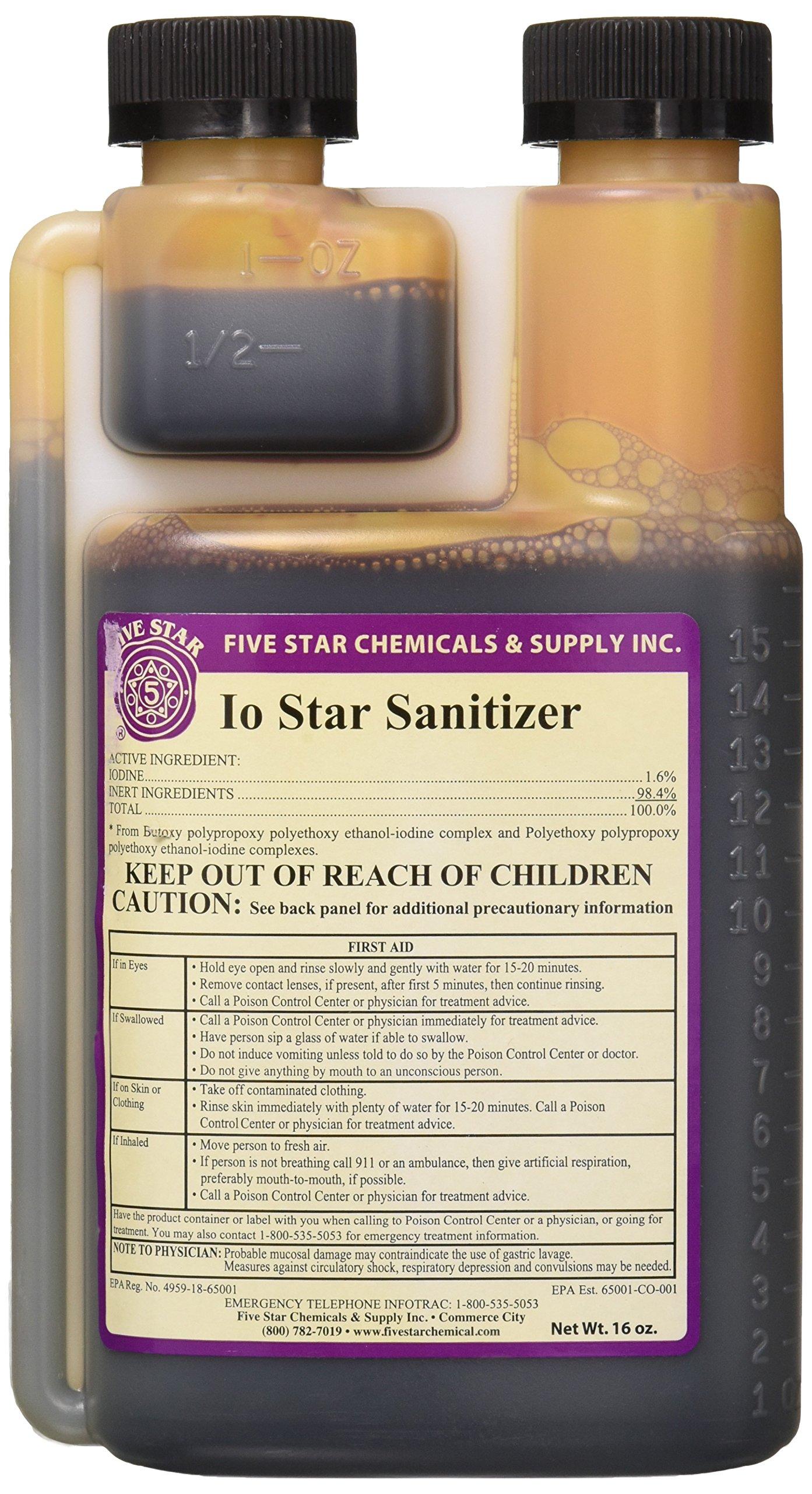 Five Star Io star Sanitizer (16 oz) by Five Star