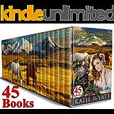45 Books Western Romance Clean Sweet 12 Complete Series Mega Box Set (Mega Box Set Series Book 13)