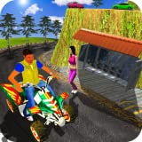 offroad quad - Quad Bike Taxi Driving Game : Moto GP Driving 3D