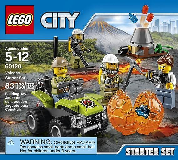 City Volcano Explorer 60120 60122 60133 cty0683 cty683 Lego Minifigures