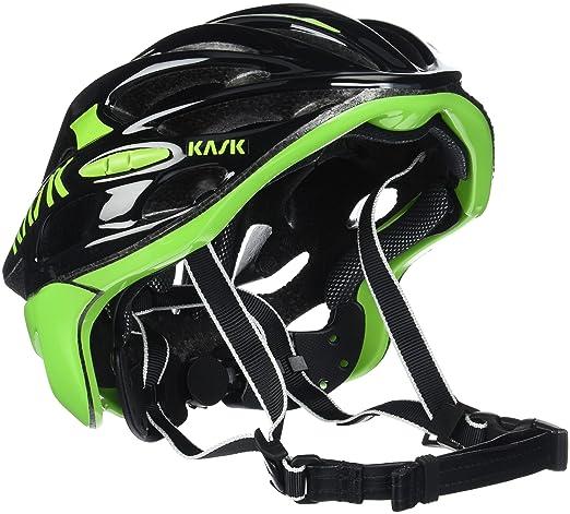 Kask - Mojito 16 - Casco para bicicleta, Adultos , Negro/Verde, M (52-58 cm): Amazon.es: Deportes y aire libre
