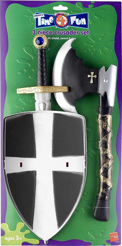 SMIFFYS 3 Piece Crusader Set Smiffy' s 31350