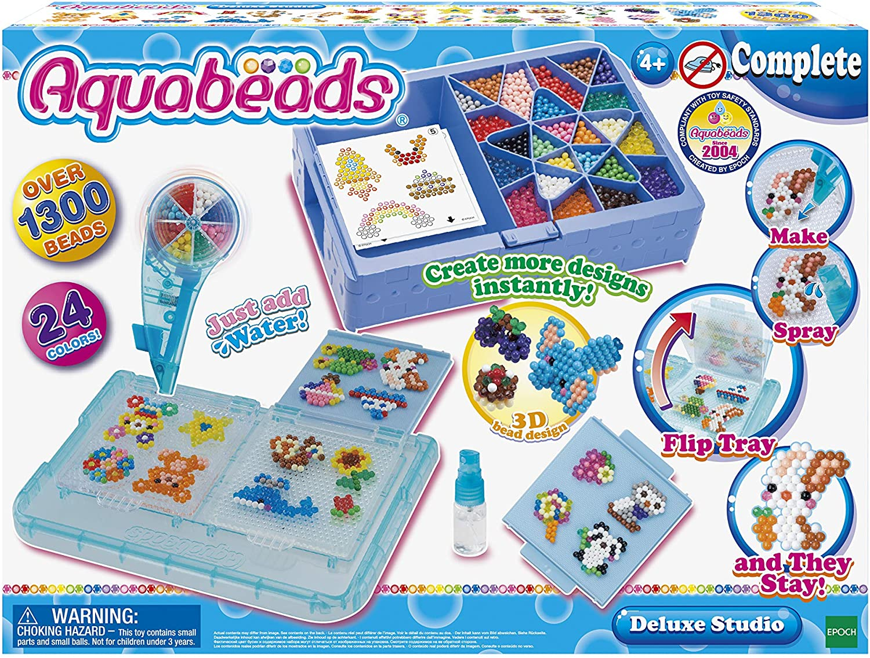 Epoch 31388 Multicolor Aquabeads-La mallette dexpert Manualidades Creativas y Cuentas para Pegar
