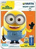 Varta Minions Night Light Lampada da Notte, Giallo
