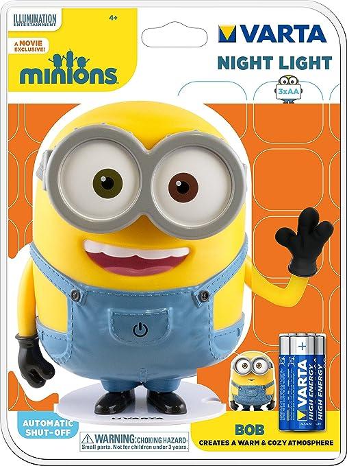 154 opinioni per Varta Minions Night Light Lampada da Notte, Giallo