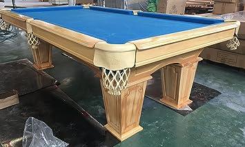 Table De Billard De 8 Pieds En Bois Massif Avec Planches Du0027ardoise De 3cm