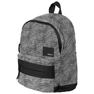 RVCA Tides Printed Backpack Black One Size
