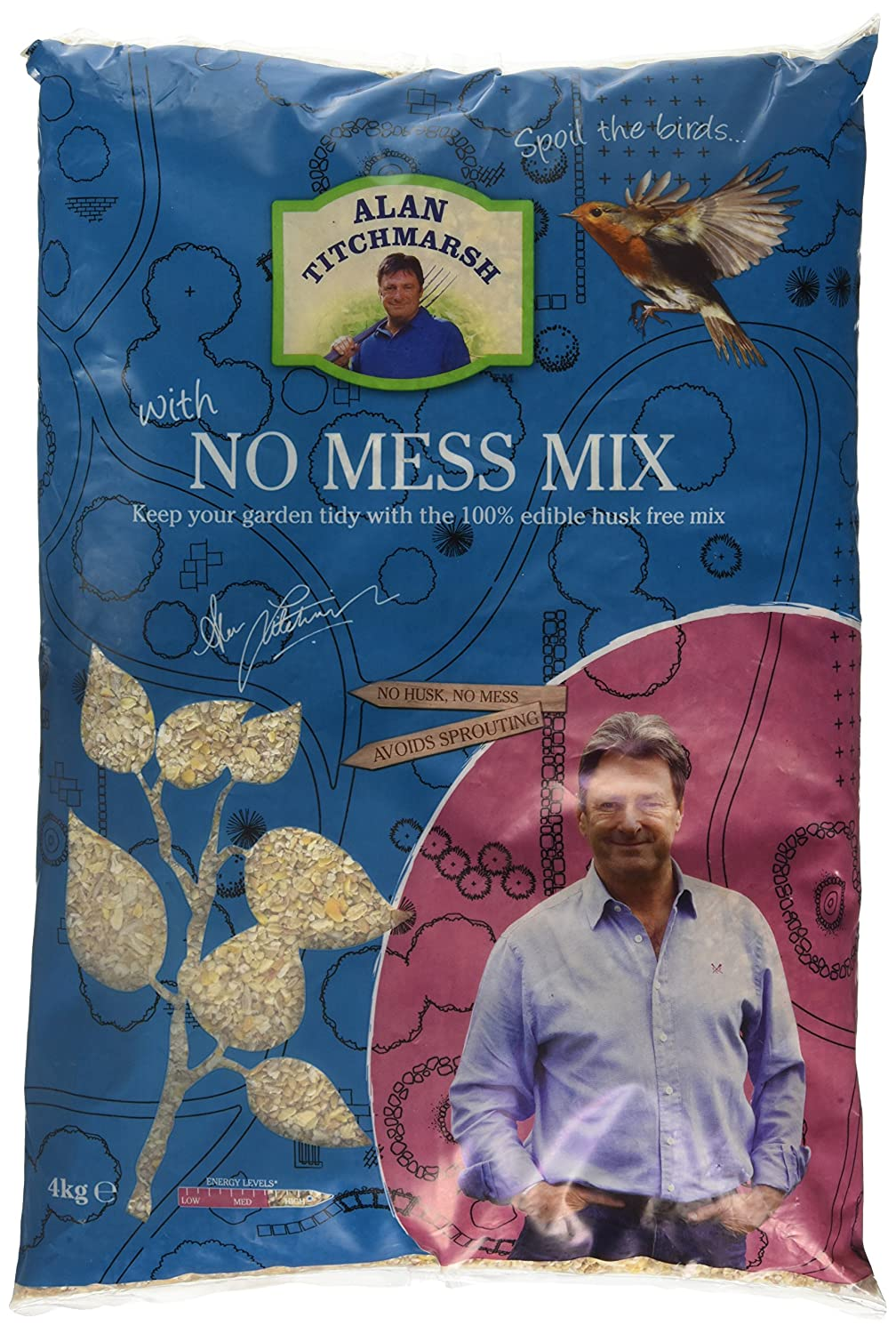 Alan Titchmarsh 4Kg No Mess Seed Pet Brands AT63