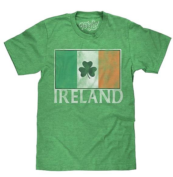 Amazon.com: Tee Luv Ireland - Camiseta de manga corta ...