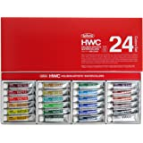 Holbein Artists' Watercolour 5ml 24 Colour Set