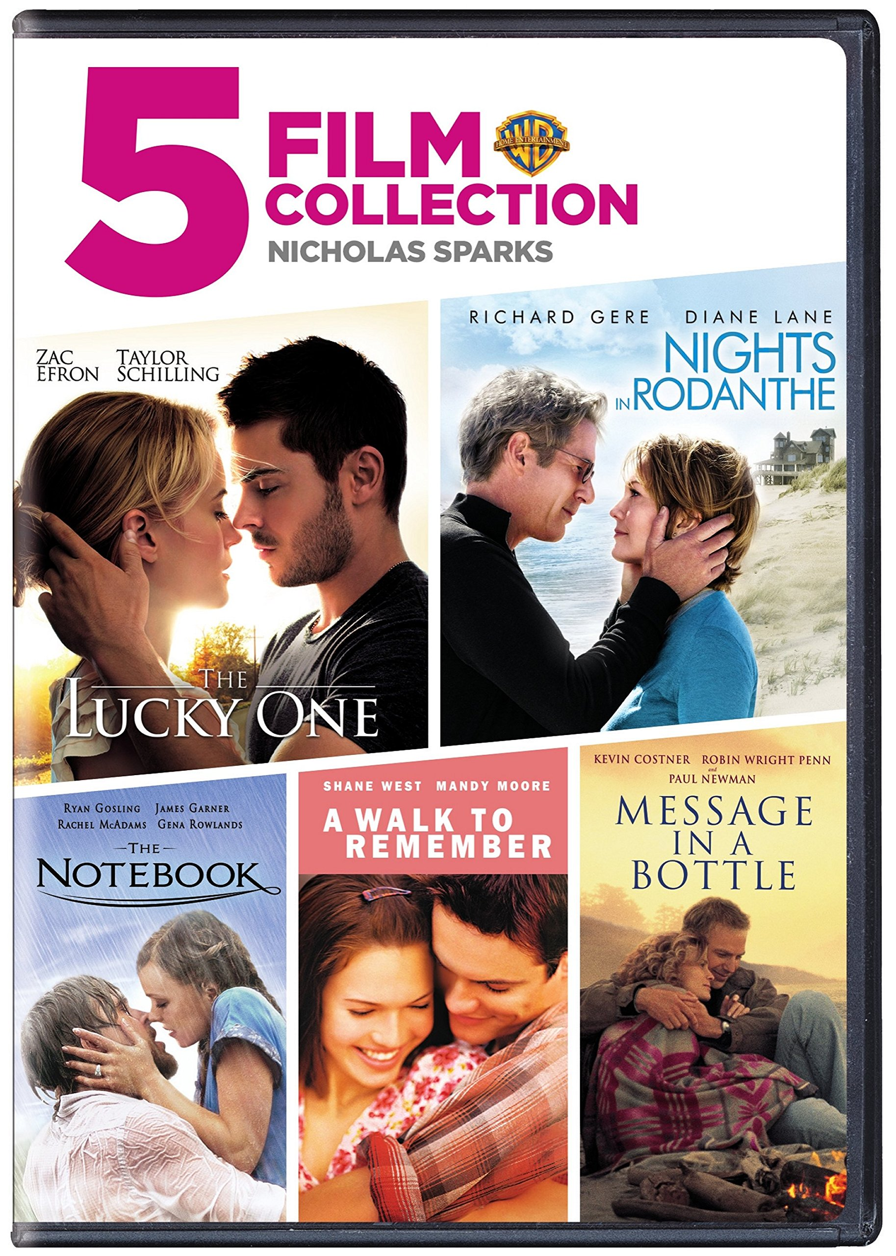 Nicholas Sparks 5 Film Collection (5pk) - Gregg's Books