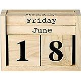 Bloomingville Wood Perpetual Calendar