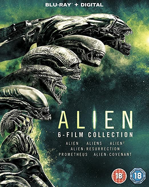Alien 6 - Film Collection [Blu-ray]: Amazon.es: Cine y Series TV