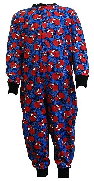 Jóvenes adultos Pelele, pijama de todo el cuerpo para adultos, mono somníferos, Onesie, traje, traje de casa, pijama - Spiderman: Amazon.es: Ropa y ...