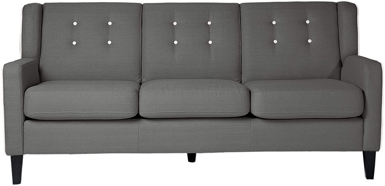 Amazon.com: Homelegance 1218dg-3 roweena sofá tapizado, 74 ...