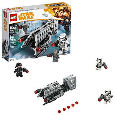 LEGO Star Wars Imperial Patrol Battle Pack 75207 Building Kit (99 Piece): Toys & Games