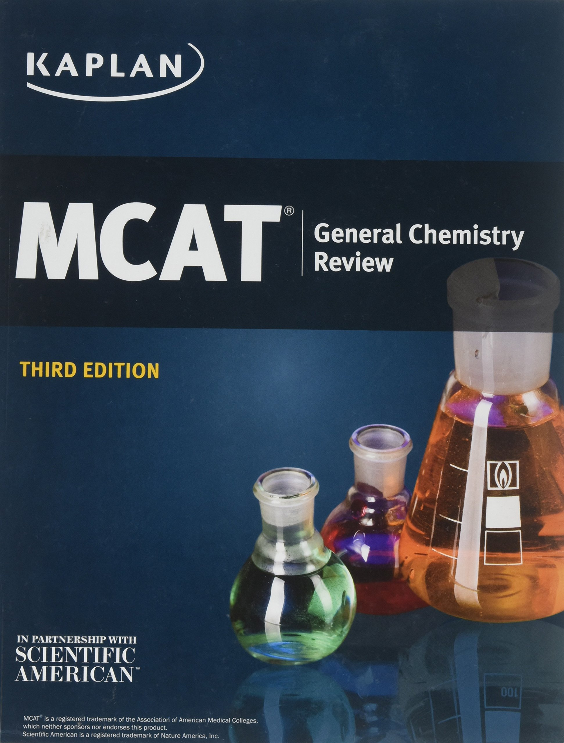 Kaplan MCAT General Chemistry Review 3rd Edition: Kaplan, MD Alexander  Stone Macnow: 9781506210032: Amazon.com: Books