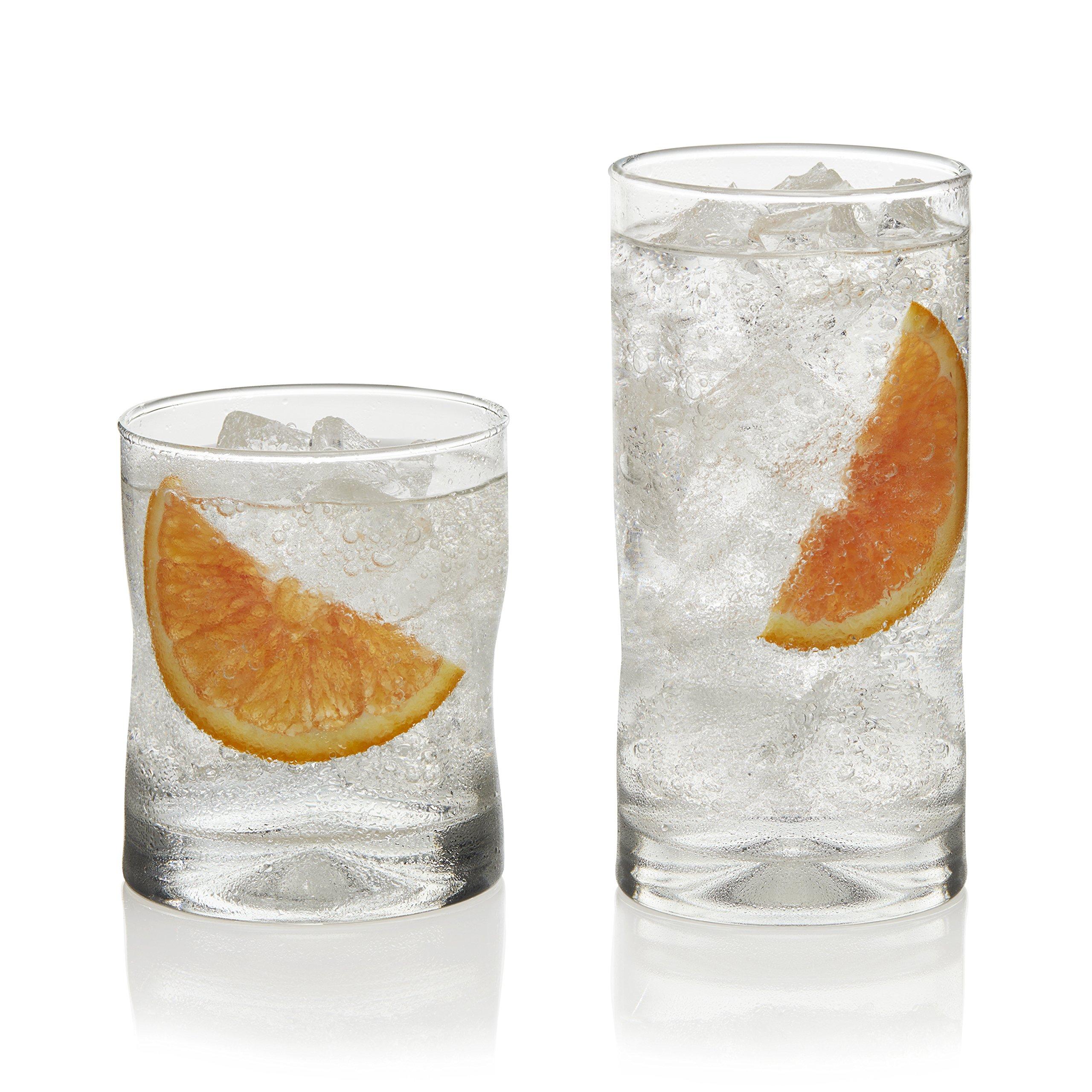 Libbey Impressions 16-piece Drinkware Glass Set
