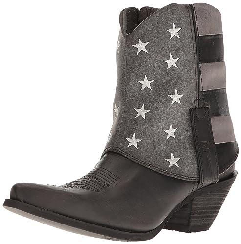 f1a0d50e44 Durango Womens Crush Fold Down Flag Boot  Amazon.co.uk  Shoes   Bags