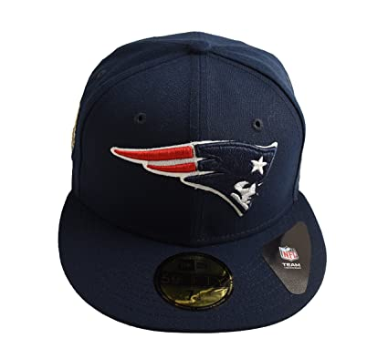 New Era New England Patriots NFL 5 Super Bowl Champioships 59FIFTY Fitted  Cap Navy Size 7 62d9d5ddc129