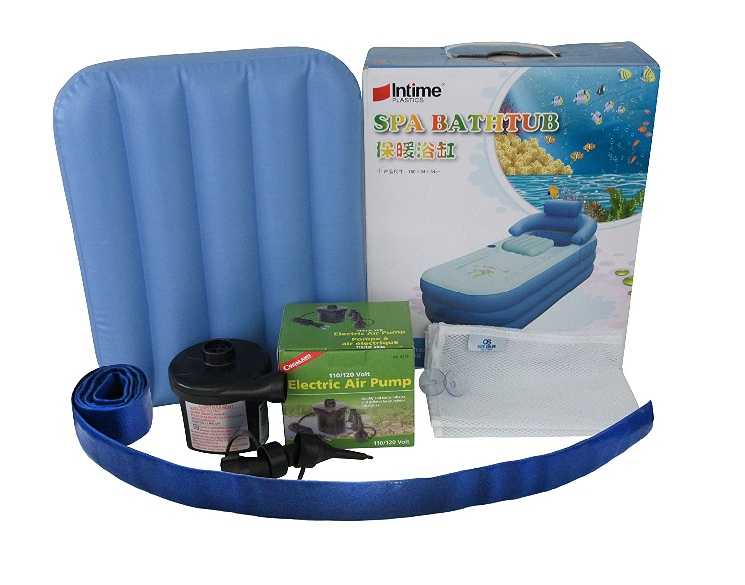 Inflatable Bath Tub Adult - Bathtub Ultra Fast Electric Pump X-long ...