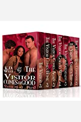 The Visitor Comes for Good: A Friendly MMF Ménage Tale (MMF bisexual menage) (Friendly Menage Tales Book 1) Kindle Edition
