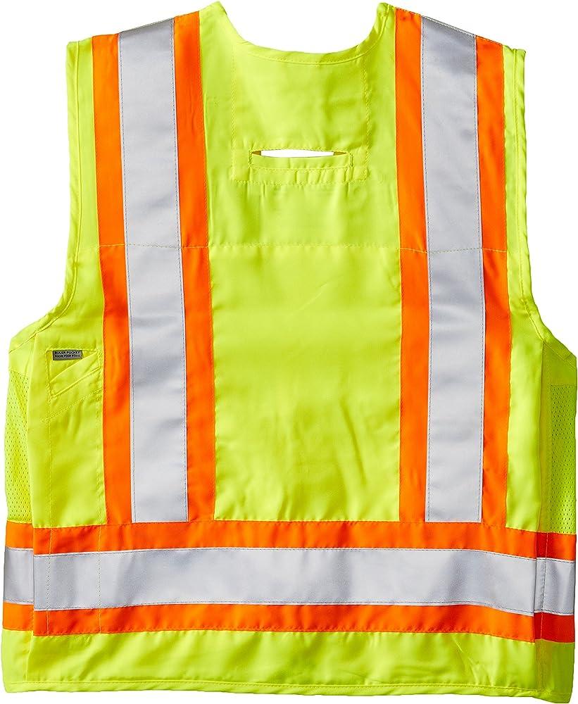 Small Lime Viking Class 2 Surveyor Safety Vest