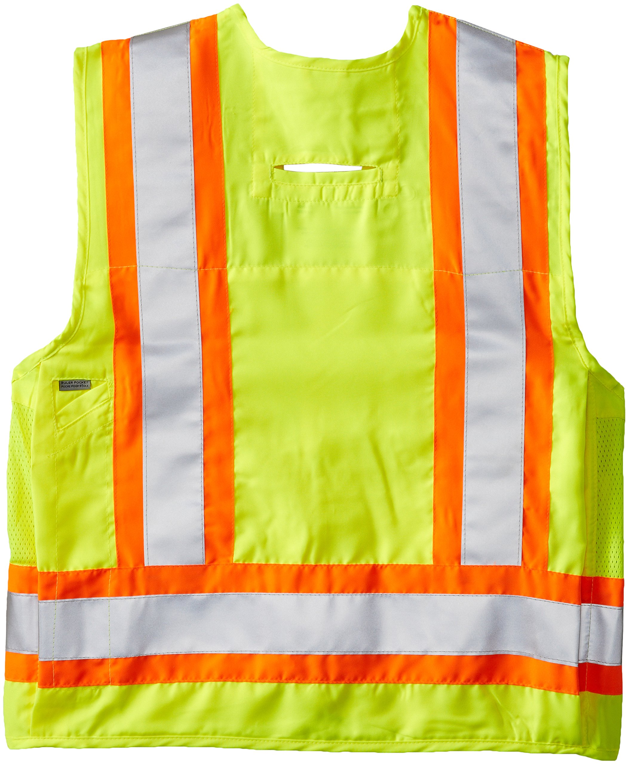 Viking Surveyor Hi-Vis Safety Vest, Green, XX-Large by Viking (Image #2)