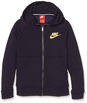 Nike G NSW Mdrn Fz GFX Sweatshirt Fille  Amazon.fr  Sports et Loisirs 284dbe9777d1