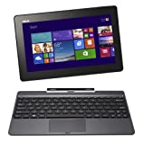 "Asus Transformer Book T100TA-DK025H - Portátil táctil convertible 2 en 1 de 10.1"" (Intel atom Z3775, 2 GB de RAM, 500 GB de disco duro + 32 GB SSD, Intel HD, Windows 8.1 32), negro - Teclado QWERTY español"