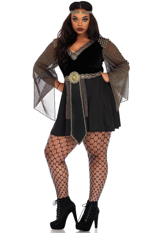 Leg Avenue 86682X Glamazon Warrior Kostüm, Schwarz, XXX-Large (EUR 46/48)
