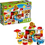 LEGO DUPLO My Town Pizzeria 10834, Preschool, Pre-Kindergarten Large Building Block Toys for Toddlers