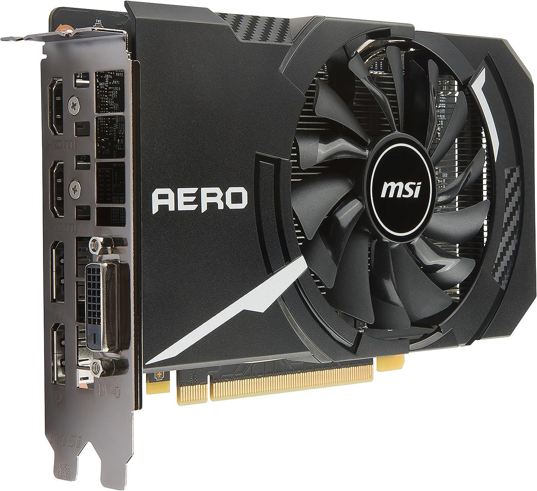 MSI Computer GTX 1060 ARMOR 3G OCV1 NVIDIA GEFORCE GDDR5 DVI//2HDMI//2DisplayPort PCI-Express Video Card