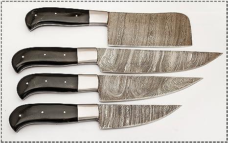Amazon.com: Hecho a mano hermoso Ture cuchillo de chef de ...