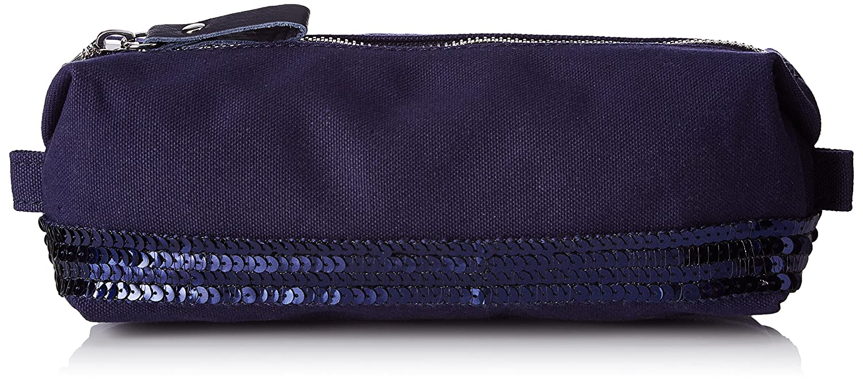 Vanessa Bruno Cabas Trousse Coton Et Paillettes, Pochette Bleu (Indigo) 6x26x10 cm (W x H x L) 0PVE01-V42030
