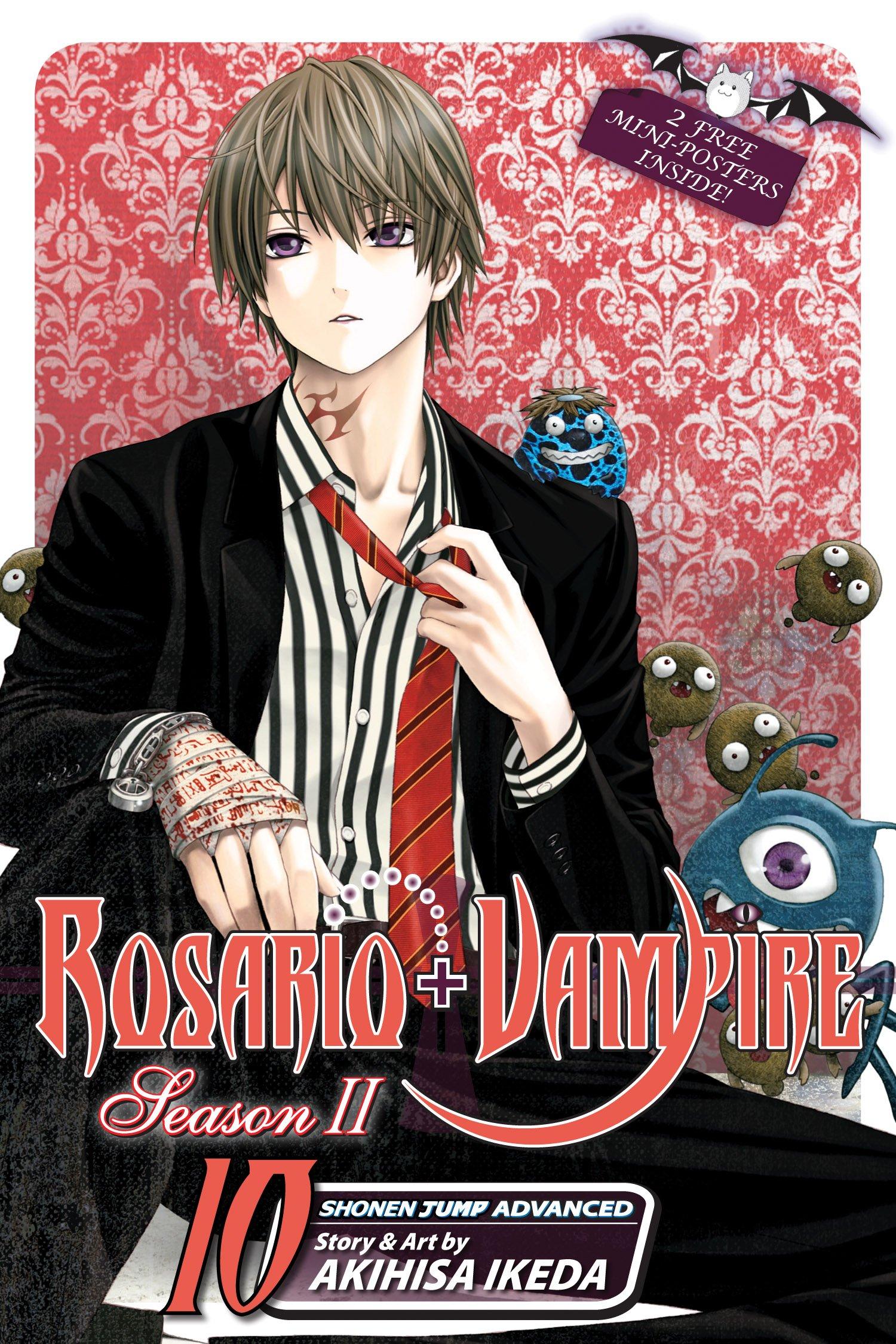 rosario vampire season ii vol 10 akihisa ikeda 9781421548791