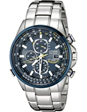 ee9723b961dfa4 Citizen Men's AT8020-54L Blue Angels Stainless Steel Eco-Drive Dress Watch