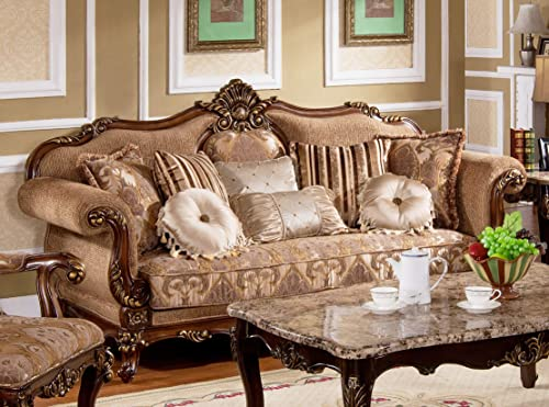 Master Furniture Madelyn Traditional 3 Pcs Living Room Sofa Set