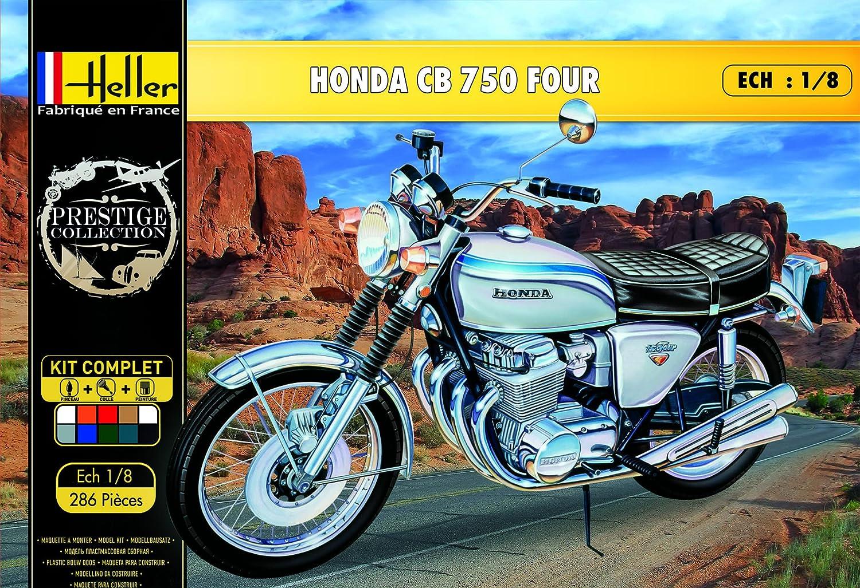 Heller   40   Maquette   40 Roues   Honda CB 40 Four   Echelle 40/40   Kit