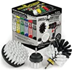 Drillbrush 3 Piece Drill Brush Cleaning Tool Attachment Kit for Cleaning