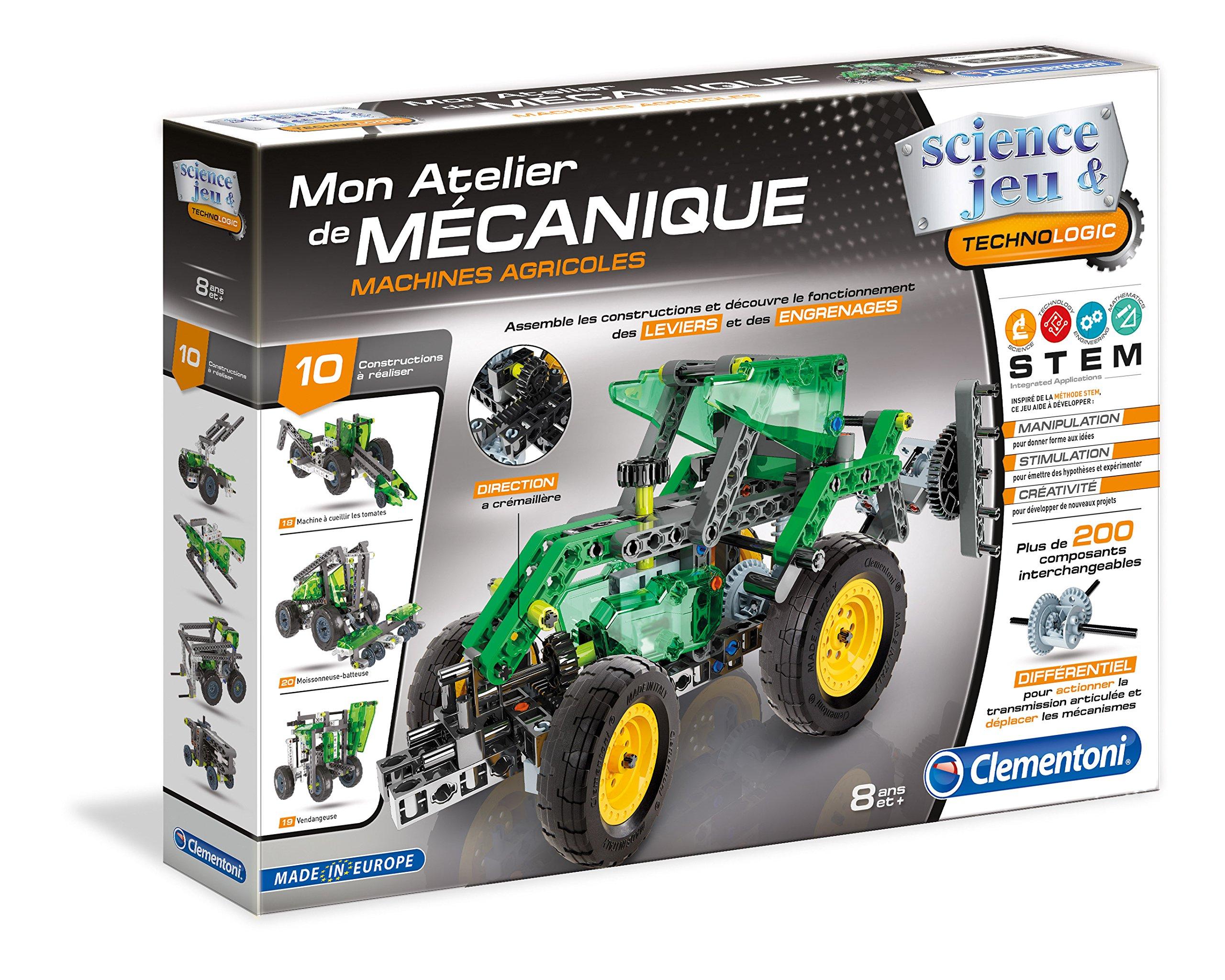 Clementoni 52224My Mechanical Workshop-Farm Vehicles [French Version]