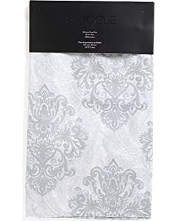 Envogue Marlo Window Curtains Panels Damask Paisley Bohemian Medallion 50 By 96 Inch