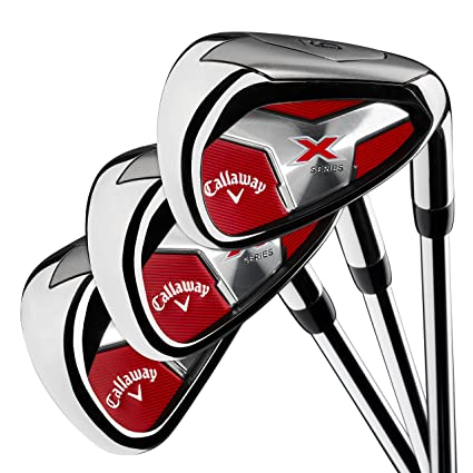 Amazoncom Callaway Golf Mens X Series 2018 Iron Set 4 Pa Steel