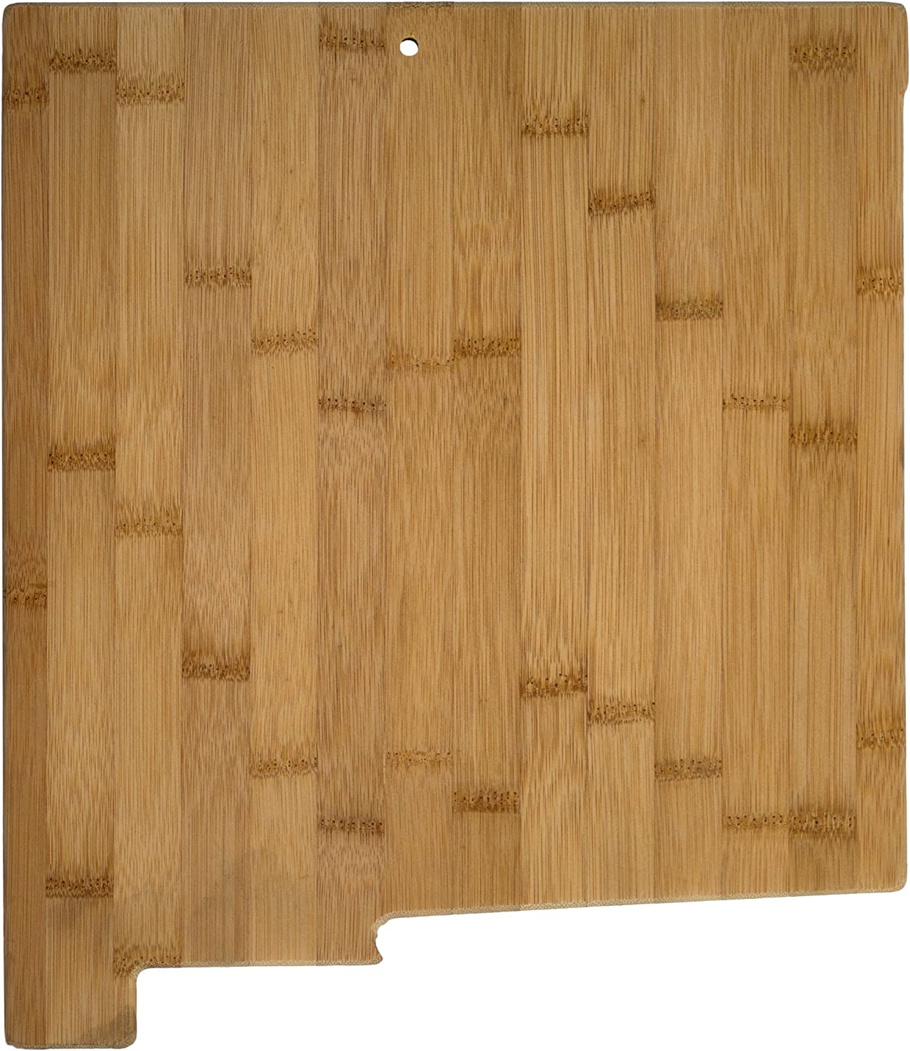 Totally Bamboo New Mexico State Shaped Serving & Cutting Board, Natural Bamboo