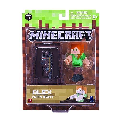 Minecraft Series 3 Alex In Diamond Armor Action Figure Pack