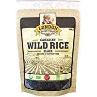 Canadian Wild Rice - Black Organic and Gluten Free, 400 Grams