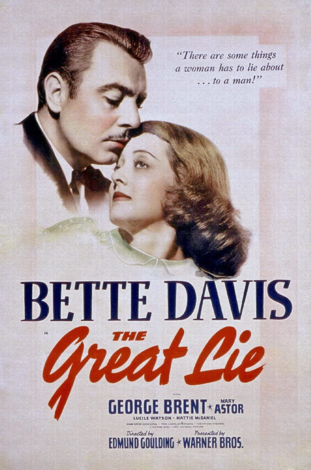 "ODSAN La grande menzogna, Bette Davis, George Brent, e Mary Astor, 1941 –  Senza Cornice, 16"" by 24"": Amazon.it: Casa e cucina"