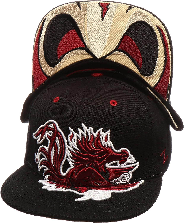 NCAA Flat Bill Zephyr Menace Adjustable Snapback Cap Mens One Size Baseball Hat