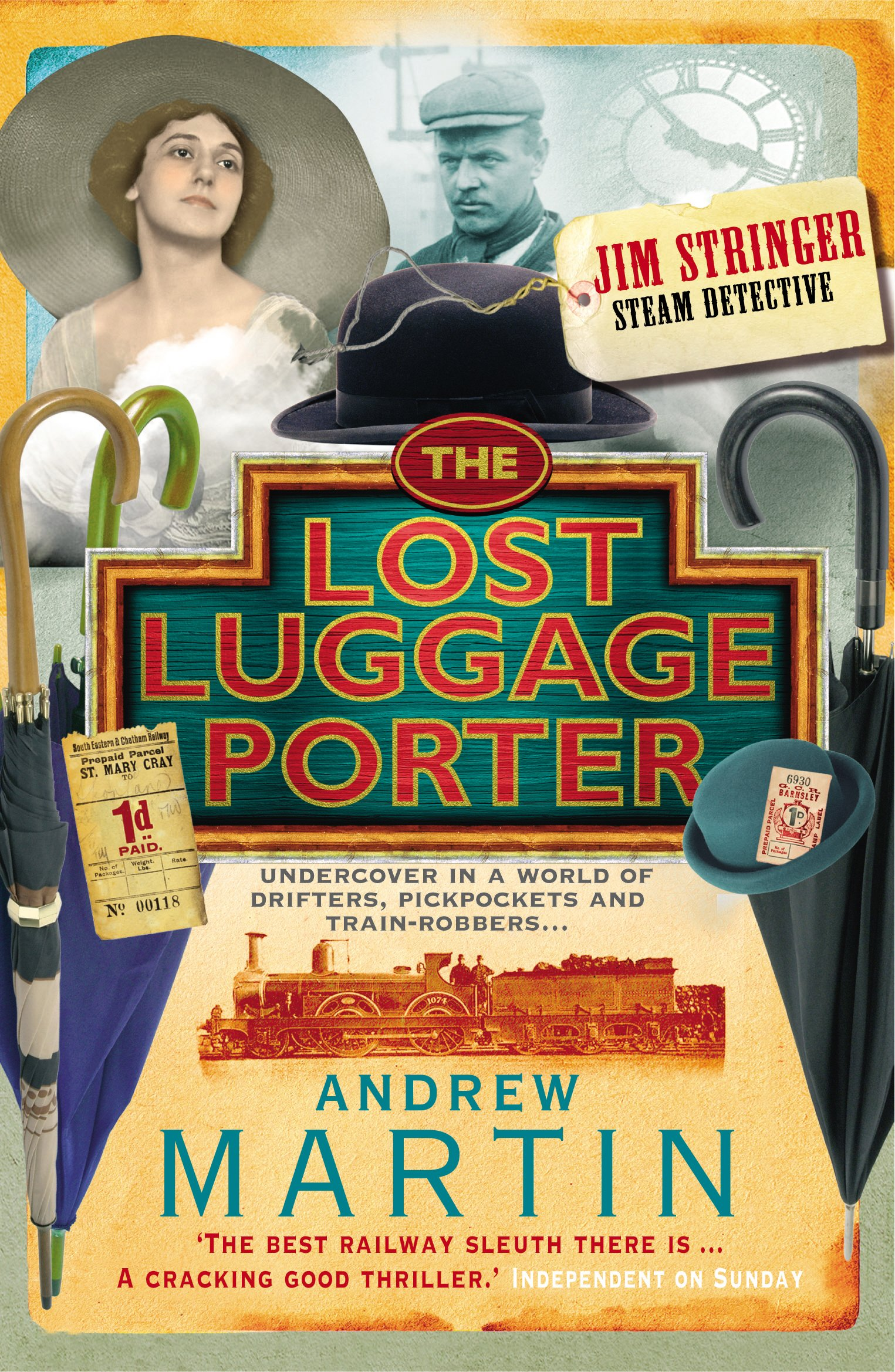 Read Online The Lost Luggage Porter (Jim Stringer Steam Detective) pdf