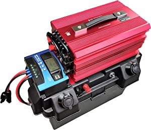 Cutting Edge Power 2,000W Solar Generator, Portable Wind Solar Battery Box w Inverter